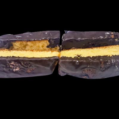 bizcocho con chocolate