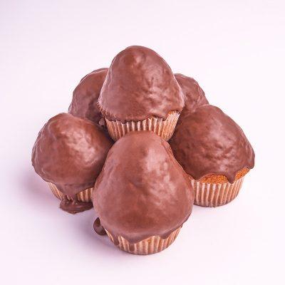 Magdalenas pequeñas de chocolate